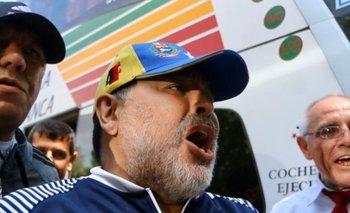 Maradona viajará para reunirse con Maduro y Lula Da Silva | De gira