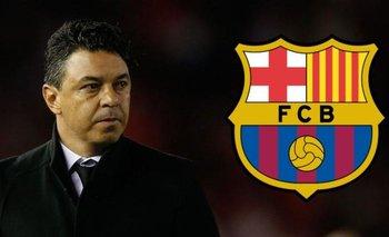 La bomba del año: ¿Gallardo se va a Barcelona?   Marcelo gallardo