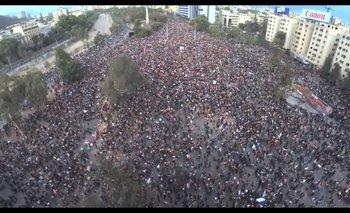 Fuerte sismo en Chile en medio de las marchas contra Piñera   Crisis en chile