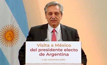 Alberto se reunió en México con Carlos Slim | Alberto presidente