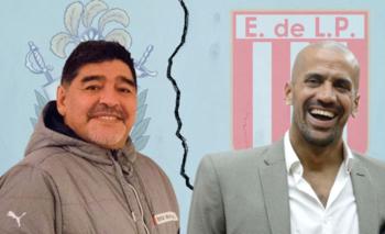 La respuesta de Verón por la pelea entre Maradona y la 'Gata' Fernández | Verón vs. maradona