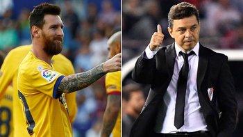 ¿Messi pidió a Gallardo para que sea su DT en Barcelona? | Deportes