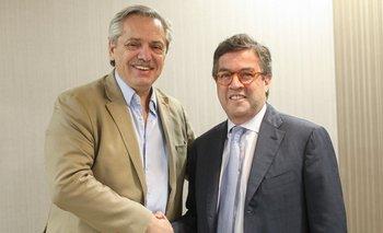 El presidente del BID expresó su apoyo a Alberto Fernández | Alberto presidente