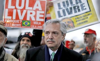 "Alberto junto a Lula: ""Yo no tengo a Néstor, a Chávez, a Evo"" | América latina"