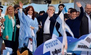 Fuerte mensaje de unidad a un año de las PASO | Alberto presidente