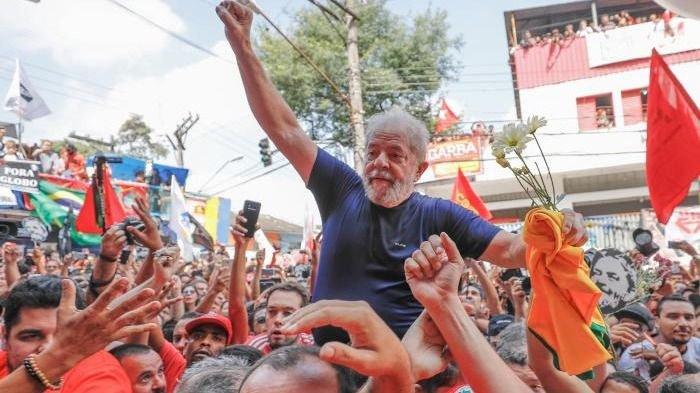 La lucha en Brasil no acabó con mi libertad — Lula