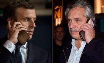 Alberto Fernández y Macron conversaron por teléfono | Alberto fernández