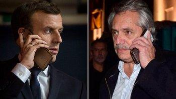 Alberto Fernández y Macron conversaron por teléfono   Alberto fernández