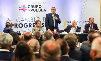 Contundente respaldo del Grupo de Puebla a Alberto Fernández | Alberto presidente