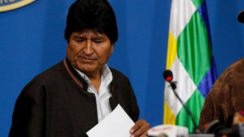 Evo Morales analiza viajar a la Argentina tras el golpe | Golpe en bolivia