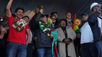 El golpista Camacho convoco a una cacería de dirigentes del MAS | Golpe en bolivia