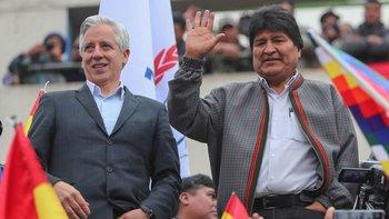 Evo Morales llegó a la Argentina   Evo morales