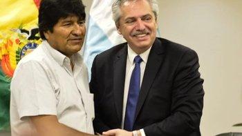 Los llamados de Alberto para salvar a Evo Morales   Golpe en bolivia