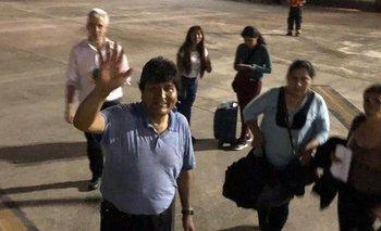 Evo partió a México tras el golpe en Bolivia  | Golpe en bolivia