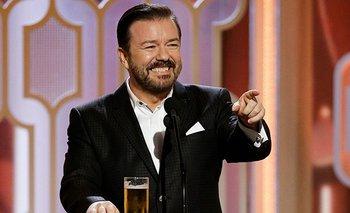 Ricky Gervais presentará por quinta vez The Golden Globes Awards | Cine