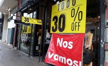Aumentó 50% la cantidad de locales vacíos en la Ciudad  | Bajas ventas