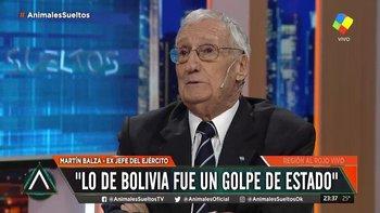 "Un ex jefe del Ejército: ""En Bolivia hubo golpe de Estado"" | Golpe en bolivia"