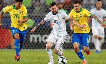 Argentina-Brasil: horario, formaciones y TV   Selección argentina