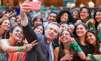 Alberto ratificó que impulsará la legalización del aborto | Aborto