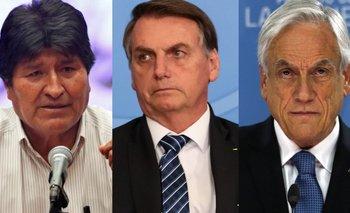 Evo denunció a Brasil y Chile por hacer campaña en su contra | Golpe en bolivia