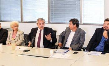 Alberto, Carlotto y Tinelli: comenzó el plan contra el hambre | Argentina contra el hambre