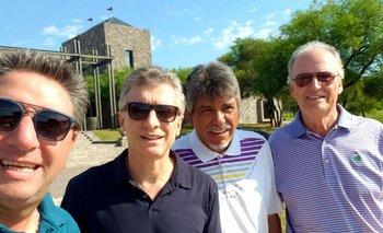 Macri y un fin de semana de lujos y golf en Córdoba | Mauricio macri