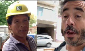 El cruce de Pablo Granados con un albañil boliviano por Evo Morales | Evo morales