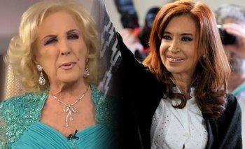 "Mirtha enojada con CFK: ""No me quiere, dijo que yo era mala"" | Mirtha legrand"