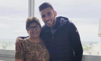 La dura enfermedad que atraviesa la mamá del 'Toto' Salvio   Boca juniors