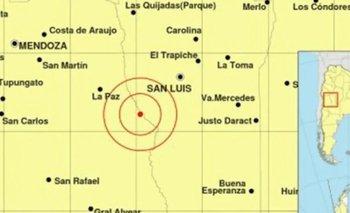 Terremoto en Mendoza y San Luis se sintió en Buenos Aires | Terremoto