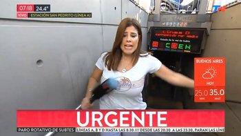 Accidente en Todo Noticias casi termina en tragedia | Televisión