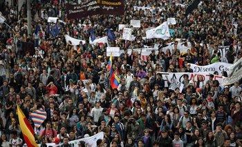 Fuerte represión contra los manifestantes en Colombia | Colombia