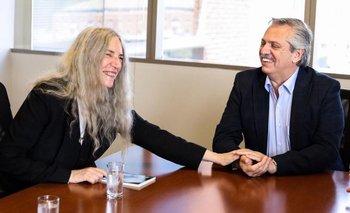 Alberto se reunió con una figura de la música internacional | Alberto fernández