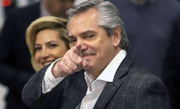 El primer mensaje de Alberto Fernández antes de la asunción   Alberto presidente