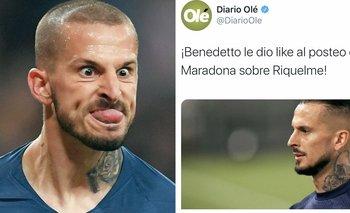 Benedetto explotó contra el diario deportivo de Clarín   Elecciones en boca