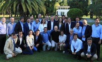 Macri reunió a sus dirigentes en Olivos y Peña no estuvo | Mauricio macri