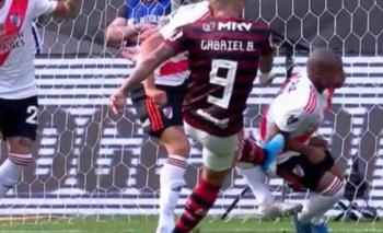 ¿Fue penal? la polémica decisión del VAR contra Flamengo | Copa libertadores