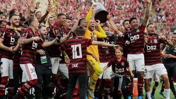 Con Gabigol encendido, Flamengo fue campeón en el final | Copa libertadores