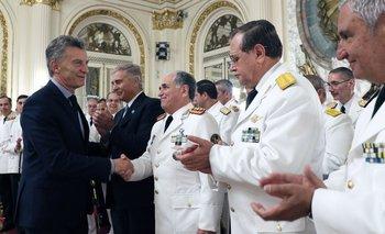 Macri se despide de las FF.AA. antes de dejar el poder | Fuerzas armadas