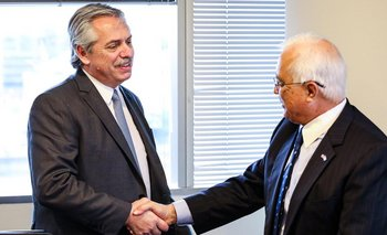 Alberto recibió al embajador de Estados Unidos | Alberto presidente