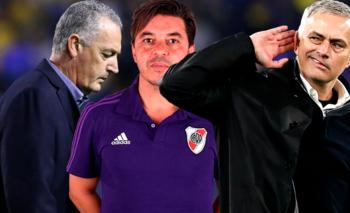 El elogio de Mourinho para River que Boca no quiere escuchar   Copa libertadores