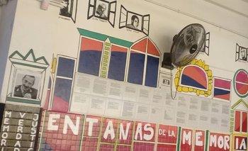Pegaron una foto de Videla sobre un mural por la memoria | Neuquén