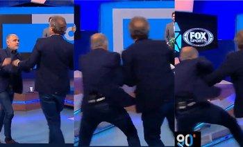 El desopilante momento al aire entre Ruggeri  y Arcucci | Fox sports