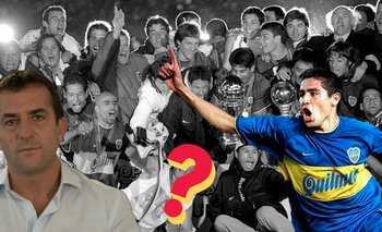 Gribaudo cortó a Riquelme en la foto de la Copa Intercontinental | Elecciones en boca