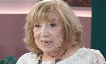 Fanny Mandelbaum denunció la violencia de un periodista | Fuerte acusación