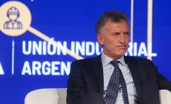 Casi en soledad, Macri se despidió de los industriales  | El peor final