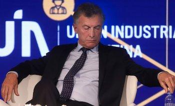 Rotunda caída de la imagen positiva de Macri en cuatro años | La retirada