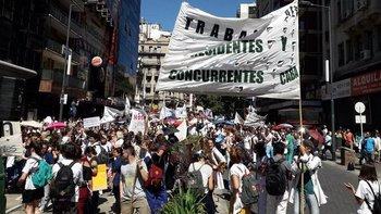 Los reclamos de los trabajadores de la salud al Gobierno   Buenos aires