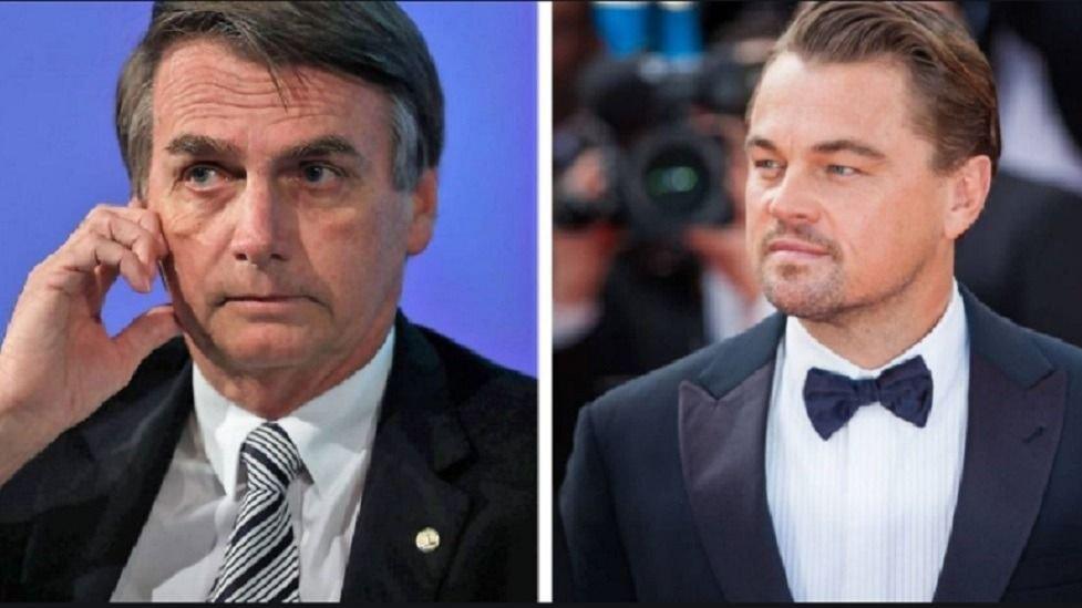 Bolsonaro acusa a DiCaprio de incendiar la Amazonía — No será mucho