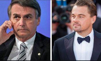 Bolsonaro vinculó a Di Caprio con los incendios del Amazonas   Incendio en el amazonas